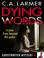 Dying Words (Ghostwriter Mystery 4)