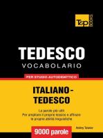 Vocabolario Italiano-Tedesco per studio autodidattico