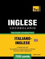Vocabolario Italiano-Inglese britannico per studio autodidattico