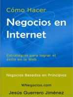 Cómo Hacer Negocios en Internet