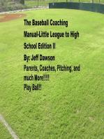 The Baseball Coaching Manual