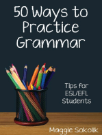 Fifty Ways to Practice Grammar