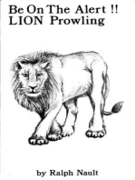 Be On The Alert!! LionProwling