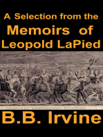 A Selection from the Memoirs of Leopold LaPied