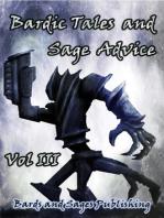 Bardic Tales and Sage Advice (Volume 3)