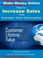 How to Increase Sales Using Customer Value Optimization