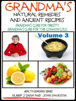 Grandma's Natural Remedies And Ancient Recipes