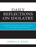 Daily Reflections on Idolatry