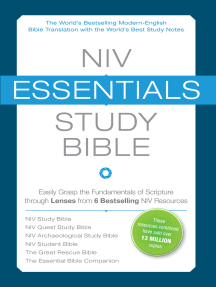 NIV, Essentials Study Bible: Easily Grasp the Fundamentals of Scripture through Lenses from 6 Bestselling NIV Resources