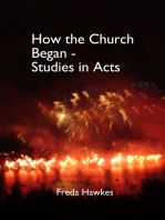How the Church Began- Studies in Acts