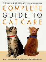 The Humane Society of the United States Complete Guide to Cat Care