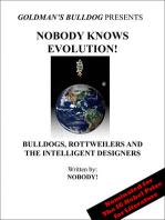 Nobody Knows Evolution!