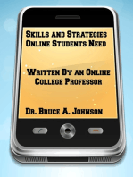 Skills and Strategies Online Students Need