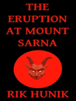 The Eruption At Mount Sarna