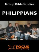 Philippians Group Bible Studies