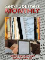 Self-Publishers Monthly, October: November 2013
