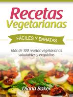 Recetas Vegetarianas Fáciles y Baratas