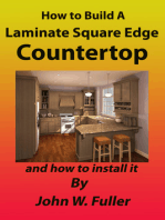 How to Build A Laminate Square Edge Countertop