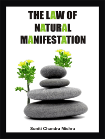The Law of Natural Manifestation