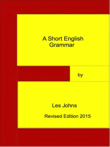 A Short English Grammar (Revised Edition 2015)