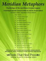 Meridian Metaphors Psychology of the Meridians & Major Organs