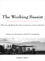 The Working Bassist