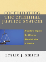 Coordinating the Criminal Justice System