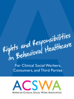 Rights and Responsibilities in Behavioral Healthcare