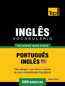 Vocabulário Português-Inglês americano: 7000 palavras mais úteis