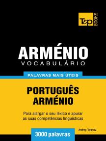 Vocabulário Português-Arménio: 3000 palavras mais úteis