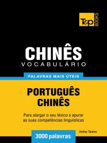 Vocabulário Português-Chinês: 3000 palavras mais úteis