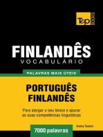 Vocabulário Português-Finlandês
