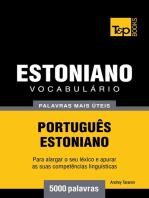 Vocabulário Português-Estoniano