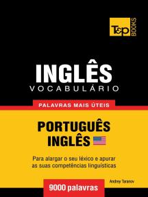 Vocabulário Português-Inglês americano: 9000 palavras mais úteis