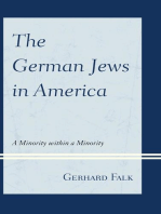 The German Jews in America