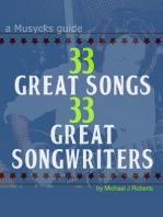 33 Great Songs 33 Great Songwriters