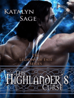 The Highlander's Curse (Legions of Fate)