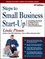 Steps to Small Business Start-Up