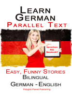 Learn German with Parallel text - Easy, Funny Stories (English - German) Bilingual