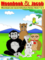 Moonbeak and Jacob Aventure Book 1 to 4 Bundle (Children's Book Age 3 to 5)