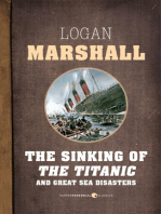 The Sinking Of The Titanic And Great Sea Disasters