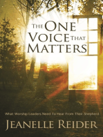 The One Voice That Matters