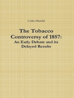 The Tobacco Controversy of 1857