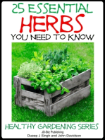 25 Essential Herbs You Need to Know