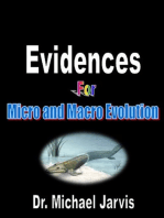 Evidences for Micro and Macro Evolution