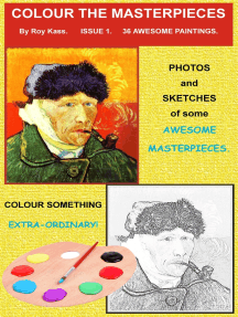 Color the Masterpieces: Issue 1 - 36 Awesome Paintings