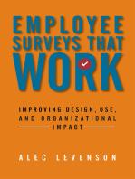 Employee Surveys That Work