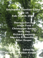Uncharted Frontier EZine Issue 16