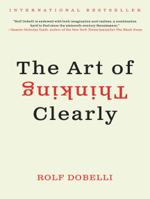 The Art of Thinking Clearly by Rolf Dobelli - Book - Read Online
