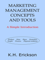 Marketing Management Concepts and Tools